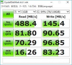 ベンチマーク(SSD)