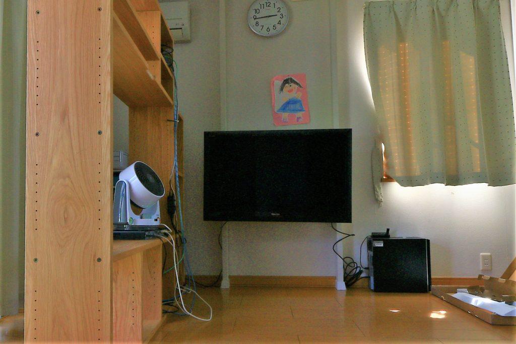 ディアウォールで壁掛けテレビ