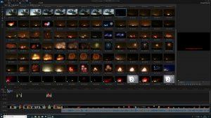4K解像度動画編集画面