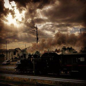 真岡鐡道SL(スマホ撮影写真)