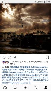 真岡鐡道SLインスタグラム投稿結果