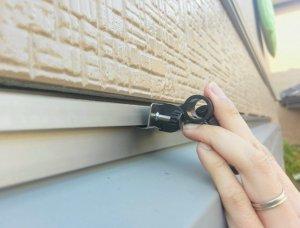 窓枠上側オーニング固定商品取付