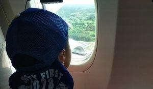 ドラレコ飛行機機外撮影