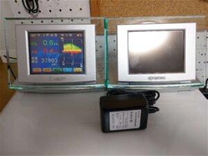 購入した中古品の発電モニター&新品ACアダプター